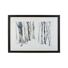 Hidden Path Print | Crate and Barrel - maybe would work for out mantle?