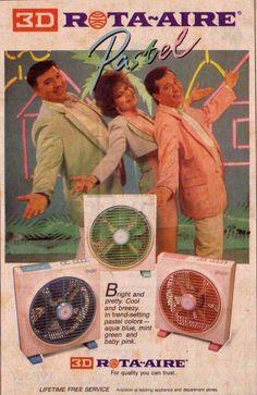 3D Rota-Aire. 1980s 80s Ads, Old Advertisements, Vintage Labels, Vintage Ads, Philippines Culture, Manila Philippines, Disney Princess Memes, Philippine Art, Filipino Culture
