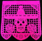 Mexican Day of the Dead Papel Picado (cut paper) Banners