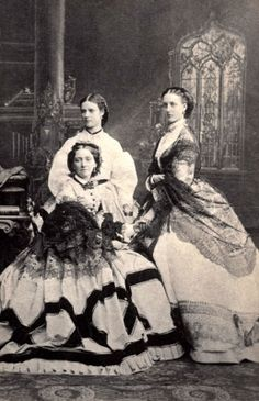 Princess Dagmar, later Maria Feodorovna, her sister Alexandra and their mother, Queen Louise of Denmark Princess Alexandra Of Denmark, Princess Of Wales, Princess Louise, Victoria And Albert, Queen Victoria, Alexandra Feodorovna, Adele, Tsar Nicolas Ii, Alexandra Of Denmark