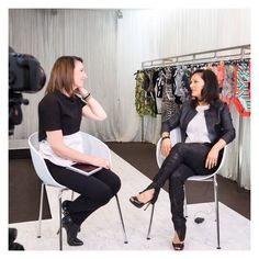 #JETSswimwear Design Director, Jessika Allen, chats with @istyle_tv on all things fashion, trends and what it takes to run a swimwear company #behindthescenes