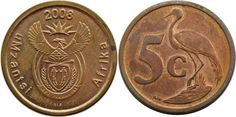 5 Cents, Coin Collecting, Coins, African, Personalized Items, Pictures, Collection, Photos, Photo Illustration