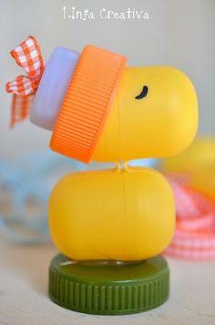Linfa Creativa: Bambini: tutorial per creare un giocattolo con materiale di riciclo.