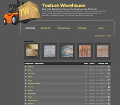 Texture Warehouse > Free and low-cost texture files. http://www.texturewarehouse.com/gallery/