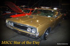 MSCC Dec 6 Star of the Day--cooler than a Mustang, Here's the link: http://mystarcollectorcar.com/mscc-december-5-star-of-the-day-scrambler-amc-brought-a-gun-to-a-gunfight/ #69TorinoGTCobraJet428