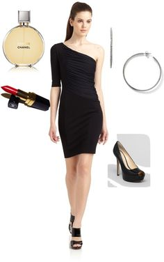 """""""The outfit I wore for my 10yr high school reunion a few years ago!"""" by elocin51982 on Polyvore"""