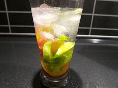 Fresh Peach Mojitos
