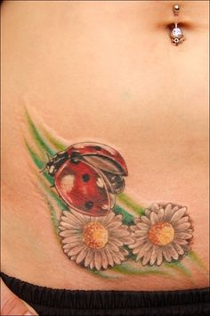Ladybug Tattoos and Designs : Page 13