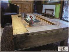 Pallets coffee-table - Recyclart