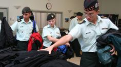 Military budget cuts leave cadets without new parkas, uniforms - A $2-million chop to the outfitting budget means some of the country's 53,000 cadets will have to recycle and swap used uniforms.
