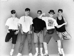 New Kids on the Block...The band's original name was Nynuk. ~A.R.