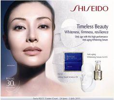 Michelle Reis for Shiseido Revital