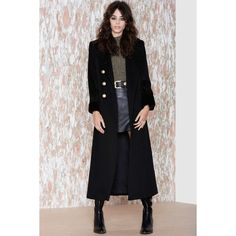 Vintage Christian Dior Obsession Wool Trench Coat ($1,298) ❤ liked on Polyvore featuring outerwear, coats, black, woolen coat, christian dior coat, trench coat, vintage trench coat and vintage coat