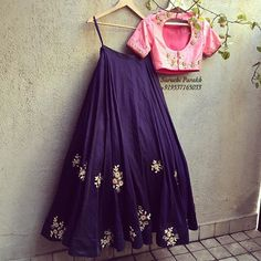 On Request!! We are posting a picture; wherein you could see the back of the blouse too; which indeed is prettily embroidered!  For enquiry u can either DM us or whtsapp us at +919537165033. (INDIA)  #indianwear #indianbride #indianwedding #designerwear #womenswear #lehenga #saree #suit #fusion #croptopskirt #fashion #vogue #style #perniaspopupshop #vogueindia #newcollection #newfashion #waredrobeessentials #weddingessentials #weddingplanner #bridesmaid #bridetobe #contemporarydesign…