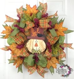 Premium Deco Mesh CHRISTMAS Wreath For by SouthernCharmWreaths