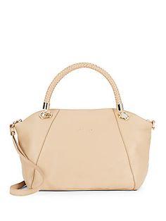 Benson Leather Satchel