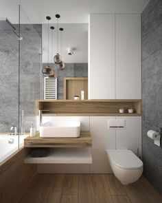 Luxury Bathroom Ideas is extremely important for your home. Whether you pick the Luxury Bathroom Master Baths Marble Counters or Luxury Bathroom Master Baths Wet Rooms, you will create the best Small Bathroom Decorating Ideas for your own life. Modern Bathroom Design, Bathroom Layout, Bathroom Interior Design, Bathroom Small, Bath Design, Modern Bathtub, Washroom Design, Bathroom Mirrors, Simple Bathroom