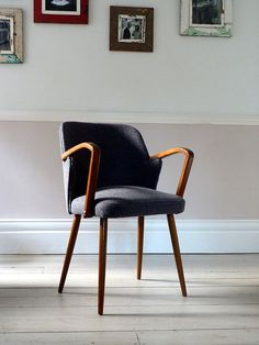 Vintage Mid-Century Desk Chair / Office Chair by OrmstonSaintUK