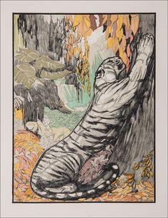 Rudyard KIPLING. Un pèlerin d'Angkor. Paris: Chez Paul Jouve et François-Louis Schmied, 1930.