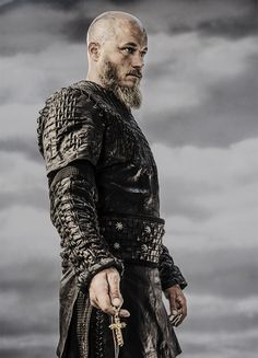 Ragnar Lothbrok portrayed by Travis Fimmel is getting on well with the Christians