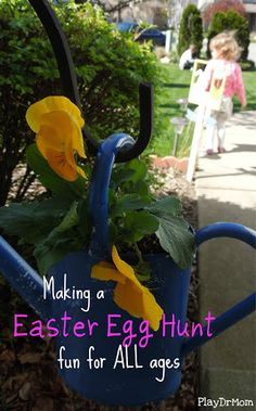 an Easter Egg Hunt that is fun for all ages!
