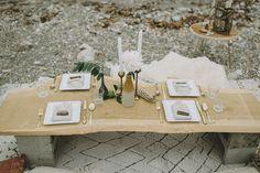 Bohemian beach ideas with a pretty lace dress + beach dinner. Bohemian Beach Wedding, Bohemian Wedding Inspiration, Elopement Inspiration, Bohemian Weddings, Wedding Reception, Our Wedding, Reception Ideas, Wedding Stuff, Wedding Ideas
