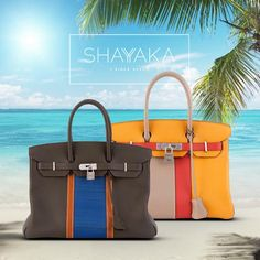 Hermès Vintage Birkin Club in Brown, Blue and Tan Leather with Palladium Hardware | Very Special Order | Size 35 cm | Available Now  Hermès Vintage Birkin in Grey, Yellow and Red Clemence Leather with Palladium Hardware | Very Special Order | Size 30 cm | Available Now For purchase inquiries, please contact sales@shayyaka.com or +961 71 594 777 (SMS, WhatsApp, or iMessage) or Direct Message on Instagram (@Shayyaka). Guaranteed 100% Authentic / Worldwide Shipping / Bank Transfer or Credit…