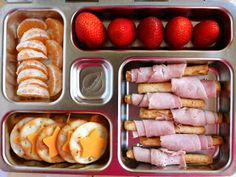 Healthy Lunchbox Ideas - Bento Box Lunch Ideas - Redbook by Melanie Stokes Kids Packed Lunch, Kids Lunch For School, Healthy School Lunches, Healthy Snacks, Healthy Lunchbox Ideas, Bento Box Lunch For Kids, Packing School Lunches, Whats For Lunch, Lunch To Go