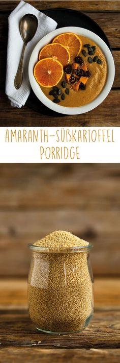 Klappt auch super mit Hirse und hat auch weniger Fett wie Amaranth Amaranth Süßkartoffel Porridge