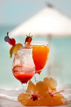 Cocktails @ the Beach