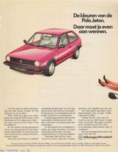 Marktplaats.nl - Advertentie Volkswagen Polo Jeton (1990) - Auto's   Folders en Tijdschriften Volkswagen Polo, Vw Commercial, Folders, Ford Fiesta St, Car Advertising, Ads, Ad Car, Sport Seats, Classic Cars