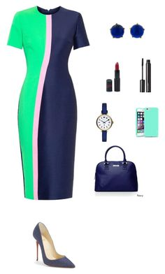 StyledbyS by sforstylebys on Polyvore featuring polyvore fashion style Roksanda Christian Louboutin Kenneth Cole Reaction Marc by Marc Jacobs Andrea Fohrman Insten Witchery Rimmel clothing