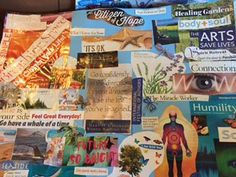 http://www.trulyyoulifecoaching.com/being-truly-you/a-personal-lesson-in-letting-go  One of my Vision boards from around 2014. A great practice to do every 4-5 years.