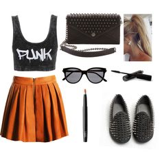 """""""Punk"""" by happy-orsi on Polyvore"""