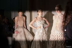 Valentino - Behind the scenes at Couture Fashion Week