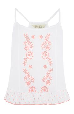 Primark - White and Pink PJ Cami