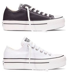 d08c21a89f8 New Converse Chuck Taylor All Star Black White Low Platform Layer Women  Shoes