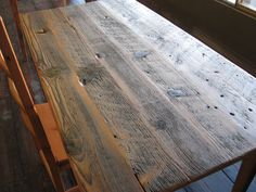 The Shaker Craftsman - farm table