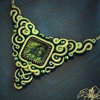 Sutaškový náhrdelník Jadine