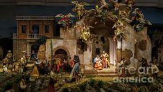 Nativity, Fair Grounds, Scene, Painting, Travel, Art, Voyage, Painting Art, Paintings