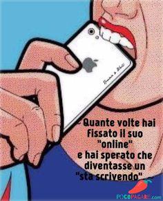Immagini Divertenti per Facebook e Whatsapp - Pocopagare.com Fake Love Quotes, Me Quotes, Best Friend Wallpaper, Cheesy Quotes, Tumblr Love, Italian Quotes, Sad Girl, Sentences, Illusions