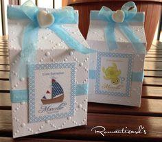Bomboniera personalizzata con cuore in fimo by Romanticards, by Romanticards e Little Rose Handmade, 1,50 € su misshobby.com