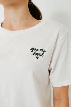 Tomboy Tee w/ Embroidery