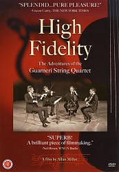 Spirited, humorous and filled with the music of Haydn, Schubert, Mozart and Beethoven, High fidelity reveals the inner workings of the quartet as it follows them on tour to Prague, Venice and across the United States. DVD 254