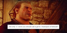 Varric Tethras - the best bro a Champion could have