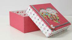 Anita y su mundo Scrapbooking Dyi Crafts, Crafts To Do, Paper Crafts, Mini Album Scrapbook, Scrapbook Paper, Origami And Quilling, Paper Basket, Explosion Box, Little Boxes