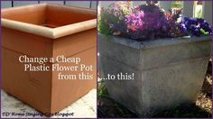 So easy. No one will know this is a dollar store pot that just looks expensive and classy.