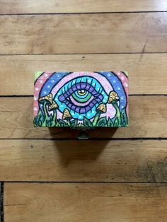 Trippy art drawing surrealism 26 Ideas for 2019 Psychedelic Drawings, Trippy Drawings, Art Drawings, Drawing Art, Small Canvas Art, Mini Canvas Art, Trippy Painting, Painting On Wood, Acrylic Paint On Wood