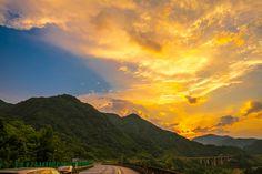 Sunset glow -