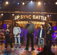 Lip Sync Battle with Stranger Things cast